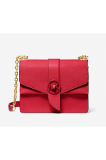 Michael Kors red Greenwich bag