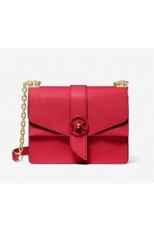 Michael Kors red Greenwich bag