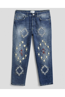 Dondupo embroidered jeans Zoe