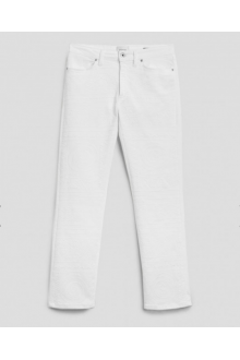 Dondup Allie embroidered white jeans
