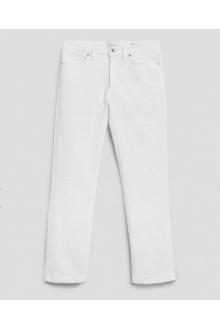 Jeans Allie Dondup bianco con ricamo
