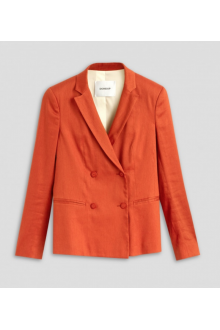 Dondup orange double breast jacket