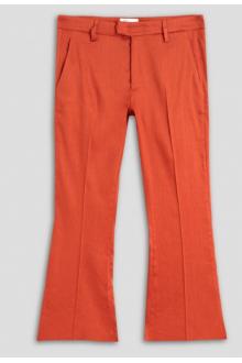 Pantalone Dondup Benedicte arancione