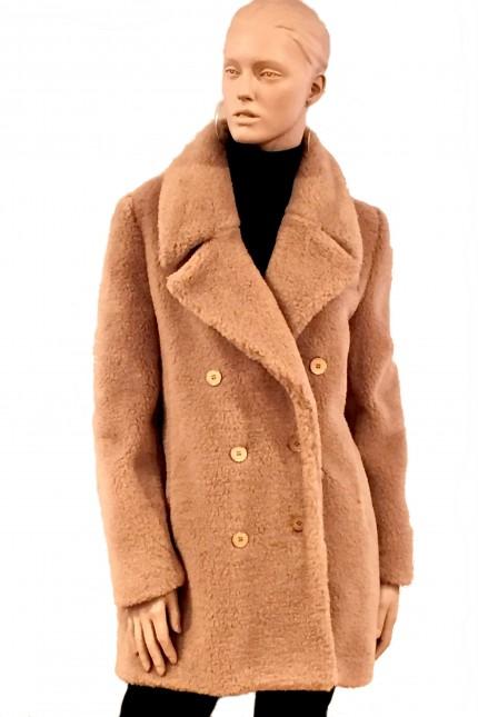 Cappotto Carven cammello