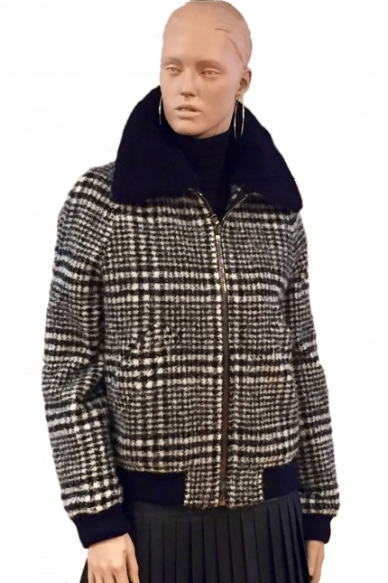 Plaid Carven Coat