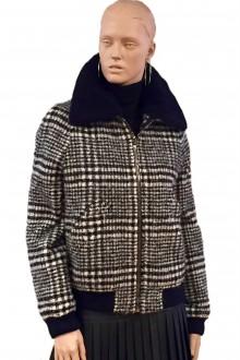 Plaid Carven Coat