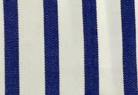 Righe bianche e blu